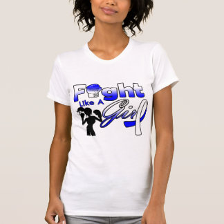 ALS Fight Like A Girl Silhouette T Shirt