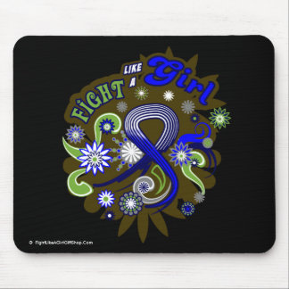 ALS Groovy Fight Like A Girl Mouse Pad