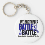 ALS My Battle Too 1 Brother Key Chains