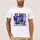 ALS My Battle Too 1 Dad T-Shirt