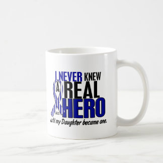 ALS Never Knew A Hero 2 Daughter Classic White Coffee Mug