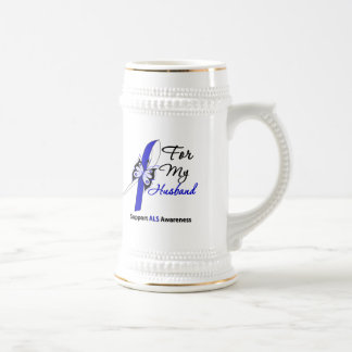 ALS Support For My Husband Coffee Mugs