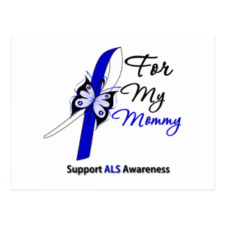 ALS Support For My Mommy Postcard