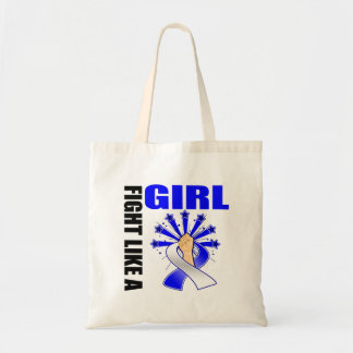 ALS Victory Fight Like A Girl Canvas Bag