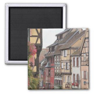 Alsace, France 8 Square Magnet
