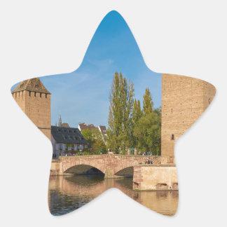 Alsace Strasbourg Henry Tower Pont Envelopes Star Sticker