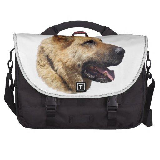 Alsatian German Shepherd dog Laptop Computer Bag