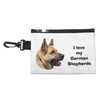 Alsatian German shepherd dog portrait Accessories Bag