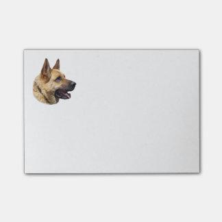 Alsatian German shepherd portrait Post-it Notes