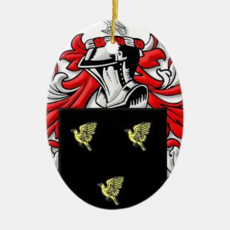 Alsop Coat of Arms Ornament