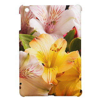 Alstroemeria Flowers iPad Case