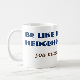 Alt Funny Hedgehog Milk Woodland Animal Comedy Coffee Mug