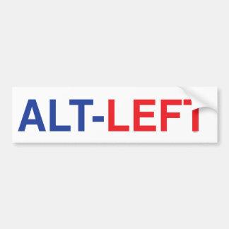 Alt Left Bumper Sticker