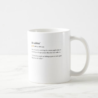 Alt Tabbin' - Urban Dictionary mug