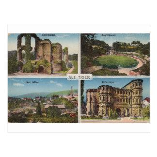 Alt Trier vintage postcard