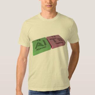 Alta as aluminium al and Tantalum Ta T Shirts