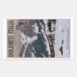 Alta Badia Meadows Stickers