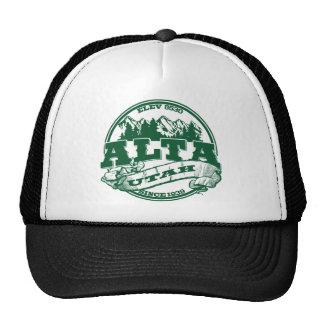 Alta Green Logo Cap