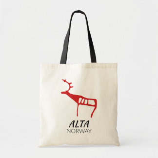 Alta, Norway (rock carving) Tote Bag