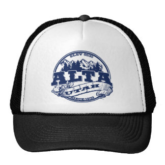 Alta Old Circle Blue Cap