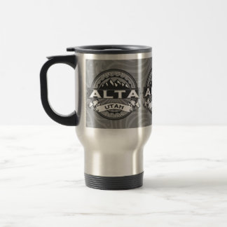 Alta Silver Travel Mug