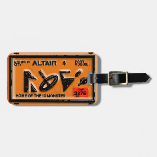 ALTAIR FOUR SPACE TRAVEL by Jetpackcorps Luggage Tag