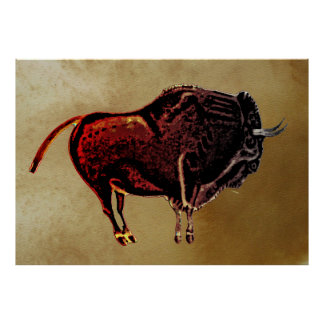 Altamira Bison Print