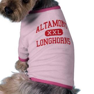 Altamont - Longhorns - High School - Altamont Utah Pet Tshirt