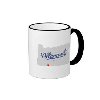 Altamont Oregon OR Shirt Ringer Mug