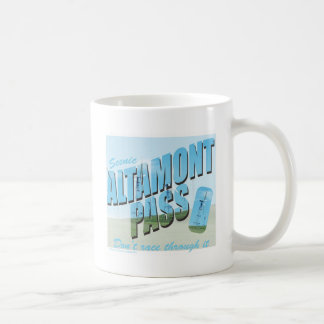 Altamont Pass Basic White Mug