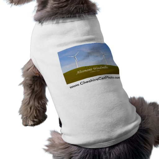 Altamont Windmills California Products Dog T Shirt