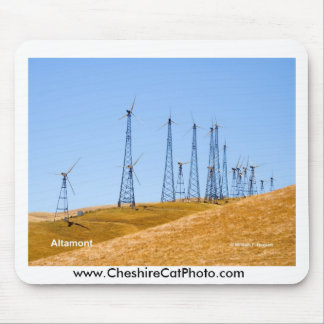 Altamont Windmills California Products Mouse Pad