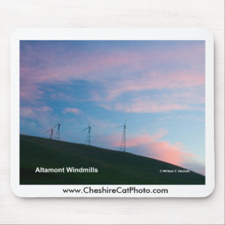 Altamont Windmills California Products Mousepads