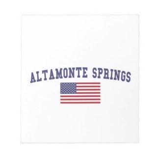 Altamonte Springs US Flag Notepads