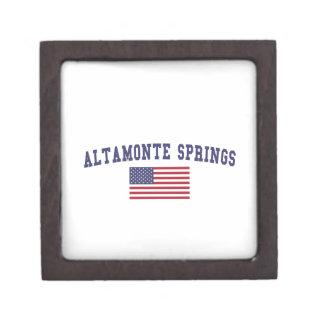 Altamonte Springs US Flag Premium Gift Box