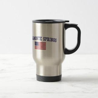 Altamonte Springs US Flag Stainless Steel Travel Mug