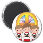 Altar Boys 6 Cm Round Magnet