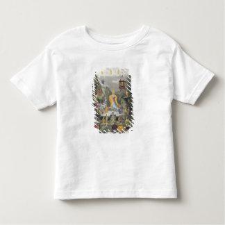Altar Piece in the 'Yun Stzoo Stzee' Temple, Ting- Toddler T-Shirt