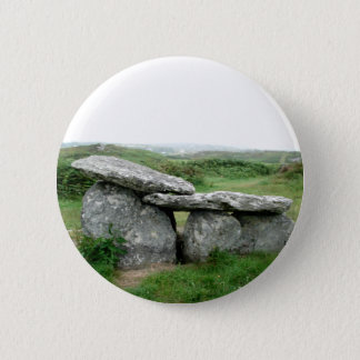 Altar Shaped Archeological Tomb Ireland Badge
