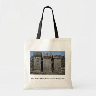 Altar stones, Mithraic Roman Temple, Hadrian's Wal Bag