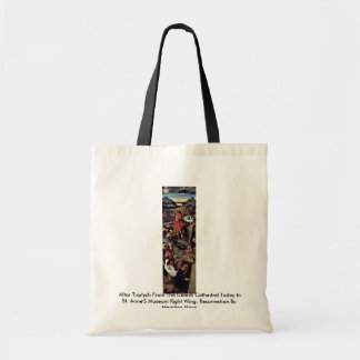 Altar Triptych From The Lübeck Cathedral Tote Bags
