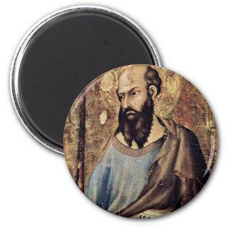 Altarpiece Of Orvieto Scene Maestetã S And Saints Fridge Magnet