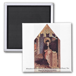 Altarpiece Of San Silvestro In Montappone Magnet