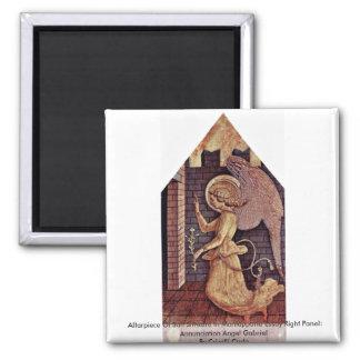 Altarpiece Of San Silvestro In Montappone Refrigerator Magnet