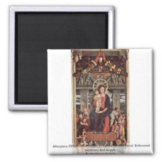 Altarpiece Of San Zeno Triptych In Verona Magnets