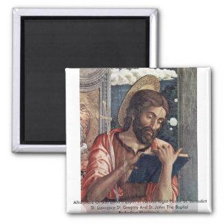 Altarpiece Of San Zeno Triptych In Verona Fridge Magnet