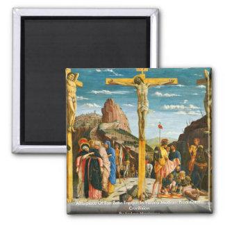 Altarpiece Of San Zeno Triptych In Verona Square Magnet