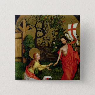 Altarpiece of the Dominicans 15 Cm Square Badge