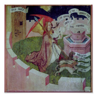 Altarpiece of the Dominicans Poster
