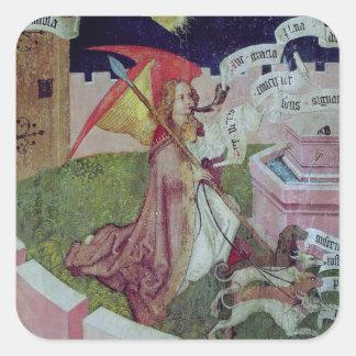 Altarpiece of the Dominicans Square Sticker